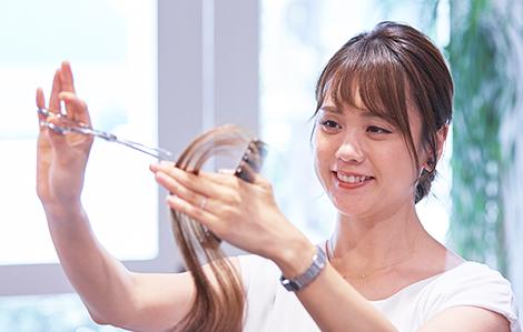 OL型美容師派遣の従業員として所属アナタの安心につながります