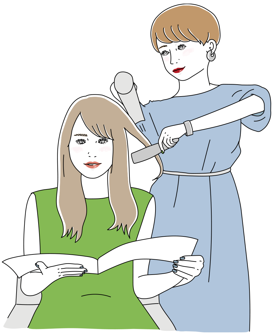 あなたが求める美容師像は?理想の働き方を見つけよう!